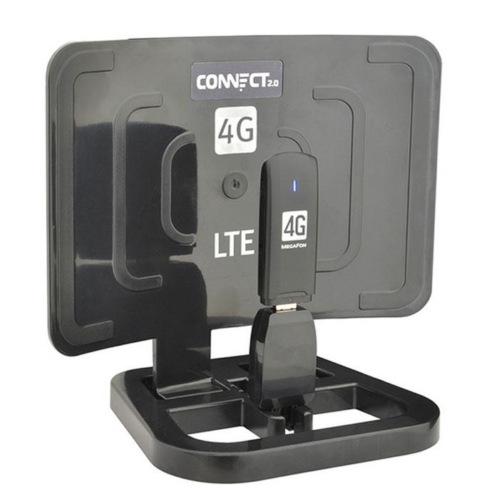 РЭМО Connect 2.0 Black Edition усилитель интернет-сигналаConnect 2.0 BlackУстройство предназначено для увеличения зоны покрытия мобильного интернета и повышения эффективности работы USB-модемов (в сетях GSM, UMTS, HSDPA, 3G, Wi-Max, LTE). Также позволяет увеличить радиус действия USB устройств, работающих по технологии Bluetooth, WI-FI. Практические испытания в ряде случаев показали эффективность применения Connect и с оборудованием SkyLink. Connect 2.0 имеет современный корпус, выполненный из ударопрочного полимера, легок в сборке и установке, не требует вскрытия модема (что позволяет сохранить гарантию производителя) и каких-либо переходников. Connect 2.0 Black Edition отличается от стандартного «Connect 2.0» усовершенствованной конструкцией отражателя, обеспечивающую наиболее оптимальную работу в сетях четвертого поколения 4G (LTE). Поддерживаемые стандарты связи: GSM (GPRS/EDGE), 3G (HSDPA/HSUPA/WCDMA), 4G (HSPA+, Lte, WiMax) Рабочие частоты, МГц: 800-6.000