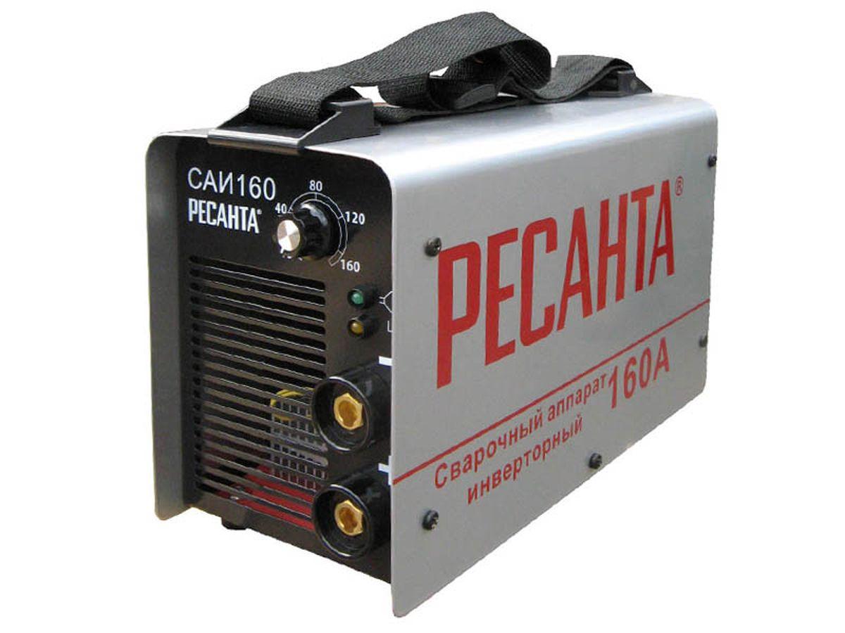 Сварочный аппарат Ресанта САИ 160САИ 160Инверторный сварочный аппарат Ресанта САИ 160 предназначен для использования в ручной дуговой сварке штучными электродами с покрытием. Высокопроизводительный, бесшумный, компактный и легкий аппарат выдает высокое качество сварных швов. Защищен от перегрузок и имеет класс защиты IP21. Построен на IGBT транзисторах. Оснащен функциями Anti Stick (антизалипание) и Hot Start (горячий старт). Характеристики: Диапазон рабочего напряжения, В: 220 (+10%;-30%) Напряжение холостого хода, В: 80 Напряжение дуги, В: 26 Продолжительность нагружения, %: 70% 160A Класс защиты: IP21.