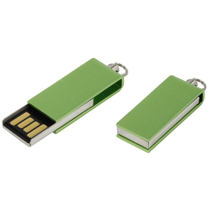 Iconik Свивел 8GB, Green USB-накопитель (под логотип)MT-SWG-8GBФлеш-накопитель Iconik Свивел выполнен в виде брелока. Накопитель имеет металлический ударопрочный корпус, а высокая пропускная способность и поддержка различных операционных систем делают его незаменимым. Флеш-накопитель Iconik Свивел имеет место для нанесения логотипа.