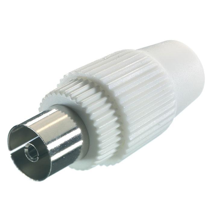 Vivanco 8/12 WS-N антенный разъем43001Vivanco 8/12 WS-N - антенный разъем с сопротивлением 75 Ом для коаксиальных кабелей диаметром от 4.5 до 7.5 мм.