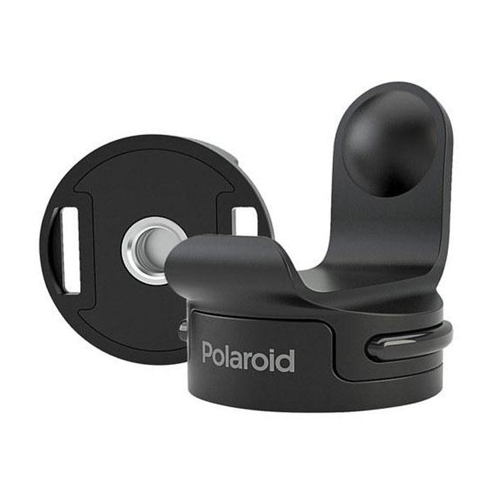 Polaroid Cube Tripod Mount крепление для экшн камерыPOLC3TMPolaroid Cube Tripod Mount - крепление на трипод, разработанное специально для камер Polaroid Cube. Имеет универсальную металлическую вставку, которая подходит для всех стандартных штативов. Универсальное крепление позволит быстро отсоединить камеру. Аксессуар изготовлен из высококачественного пластика и резины.