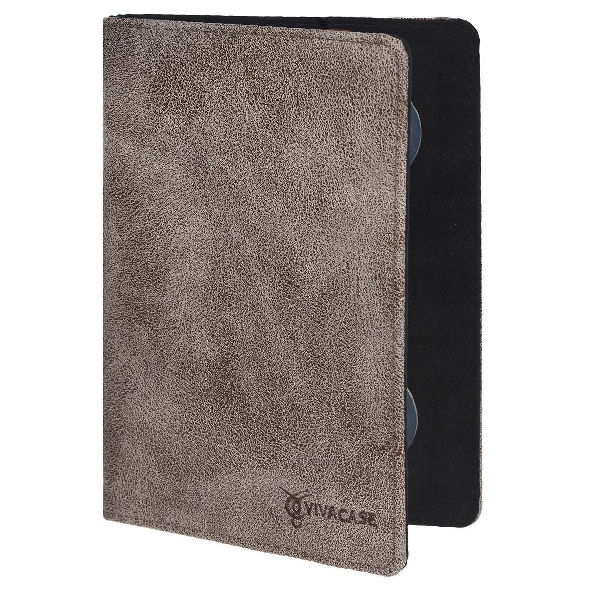 Vivacase Dandy чехол для планшетов 7, Brown (VUC-CDN07)VUC-CDN07-brЧехол Viva Dandy предназначен для защиты электронных устройств диагональю 7 от механических повреждений и влаги. Крепление PVS позволяет надежно зафиксировать устройство.