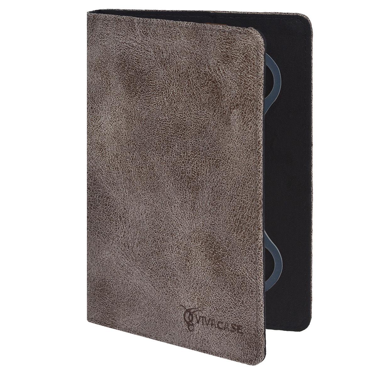 Vivacase Dandy чехол для планшетов 7+, Brown (VUC-CDN07P)VUC-CDN07P-brЧехол Viva Dandy предназначен для защиты электронных устройств диагональю 7+ от механических повреждений и влаги. Крепление PVS позволяет надежно зафиксировать устройство.