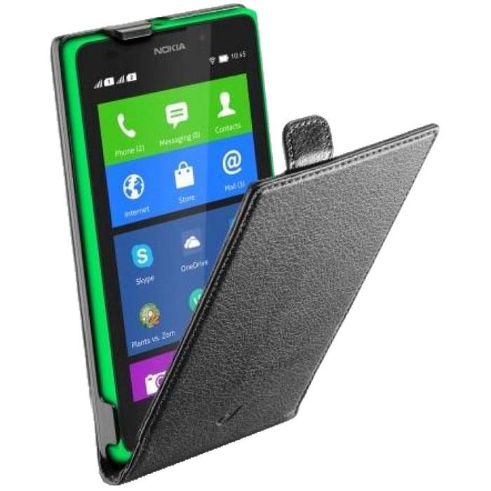 Cellular Line Flap Essential чехол для Nokia XL (21431)FLAPESSENXLKCellular Line Flap Essential - качественный защитный чехол для вашего смартфона. Все разъемы и элементы управления открыты и легко доступны.