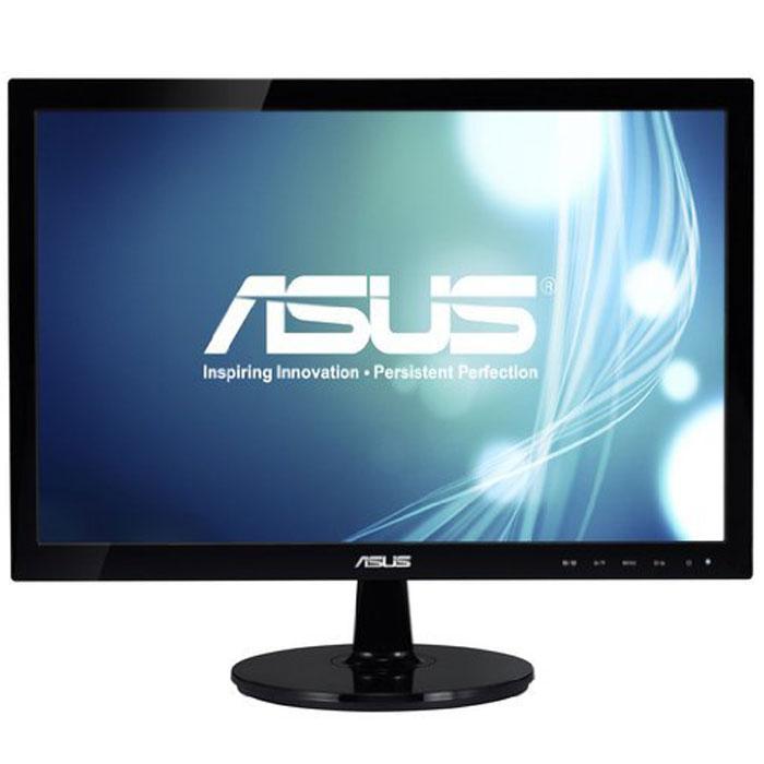 Asus VS197DE, Black монитор227211Современный ЖК-монитор со светодиодной подсветкой и высокой контрастностью. Помимо великолепного качества изображения он может похвастать прекрасным дизайном корпуса и изящной, надежной подставкой. Технология ASUS Smart Contrast Ratio: Благодаря технологии ASCR, которая динамически изменяет яркость подсветки в зависимости от текущего изображения, контрастность данного монитора достигает фантастического уровня – 50 000 000:1! Высокое качество изображения: Разрешение 1366x768 пикселей и время отклика 5 мс. Чтобы работать еще эффективнее, подключите этот монитор к ноутбуку в режиме расширенного рабочего стола. Функция контроля соотношения сторон позволяет пользователям указать предпочтительный способ отображения видеоматериала при масштабировании: растягивать картинку на весь экран или сохранять соотношение сторон 4:3. Технология Smart View: Технология Smart View обеспечивает отсутствие искажений цвета при взгляде на экран...