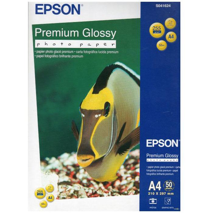 Epson Premium Glossy Photo Paper (C13S041624) фотобумага, 50 листовC13S041624Высококачественный материал Epson Premium Glossy Photo Paper на бумажной основе с глянцевым полимерным покрытием предназначен для печати изображений профессионального качества - фотографий, интерьерной графики. Толщина (мм): 0.27 Прозрачность: 96% Яркость: 97%