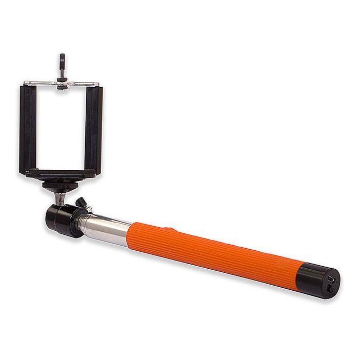 Rekam SelfiPod S-550R, Orange беспроводной монопод для селфиS-550RRekam SelfiPod S-550 - простое, и невероятно удобное устройство для создания фотографий в жанре селфи. Конструктивно новый гаджет представляет собой телескопическую «ручку-указку», но с более прочной конструкцией, способной выдержать как смартфон, так и фотокамеру весом до 500 грамм. При помощи селфипода вы сможете не только запечатлеть себя в разнообразных ситуациях, но и создать по-настоящему оригинальные кадры. SelfiPod S-550 от Rekam подходит для смартфонов, работающих на базе Android и iOS. Длинна селфипода в сложенном составляет всего 23,5 см. 7 стальных секций позволяют удлинить селфипод на 100,5 см. Прочная конструкция надежно фиксирует камеру и дает возможность использовать SelfiPod S-550 в экстремальных условиях съемки. Rekam SelfiPod S-550 оборудован универсальной 3D «головой» со стандартным винтовым креплением для фото- и видео камер. 3D-вращение обеспечивает полную свободу в выборе удобного угла и направления съемки. ...
