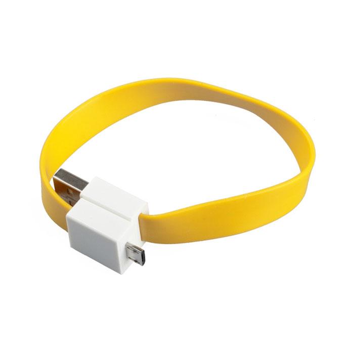 Liberty Project Micro-USB дата-кабель на магните плоский, YellowSM001680Кабель Liberty Project Micro-USB предназначен для передачи данных с вашего устройства на персональный компьютер, а также зарядки от источников питания с USB выходом.