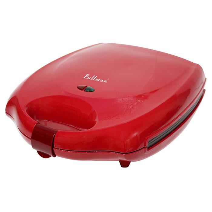 Pullman PL-1023R, Red прибор для приготовления пироговPL-1023RДелать выпечку в паймейкере Pullman PL-1023 очень просто. Точнее, всю выпечку прибор сделает сам, а вам нужно всего лишь предварительно заготовить начинку, замесить тесто и аккуратно вырезать его с помощью формовочных колец, которые вы найдёте в комплекте. Мощный нагревательный элемент паймейкера одинаково хорошо прогревает и верхнюю, и нижнюю жарочную панель, поэтому пироги получаются высокими, румяными, хорошо пропеченными и очень вкусными. Благодаря антипригарному покрытию пироги не только равномерно поджариваются, но и легко вынимаются из паймейкера.