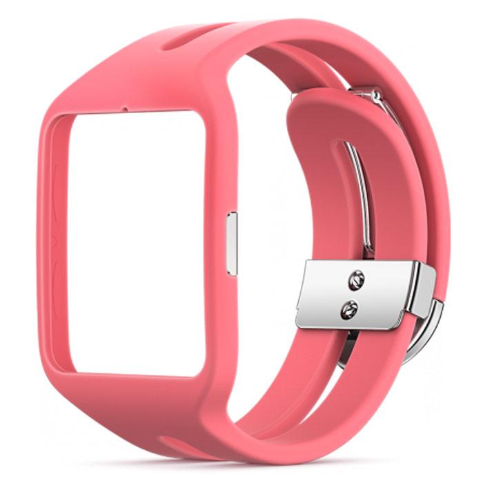 Sony SWR510 Sport, Pink сменный ремешок для SmartWatch 3