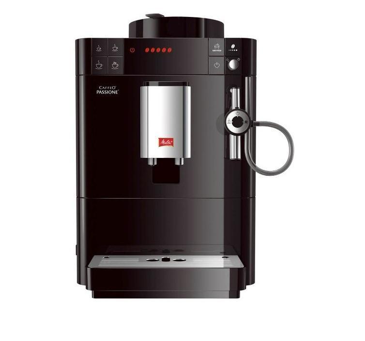 Melitta Caffeo Passione F530-102, Black кофемашина (21022)21022Автоматическая кофемашина Melitta CaffeO Passione silver (Melitta F 530-101) - испытайте наслаждение свежим кофе в новом компактном размере: новая кофемашина от Мелитта с особой системой Melitta Best Aroma System. Печать Aromasafe на контейнере для зёрен означает, что разнообразие вкуса и аромата кофейных зёрен надёжно сохранено. Функция Bean to Cup обеспечивает помол и варку только того количества зёрен, которое Вам необходимо. И, наконец, уникальные процессы предварительного замачивания и экстракции (A.E.S.) гарантируют превосходное раскрытие вкуса и аромата кофе. Интуитивно понятная панель управления с встроенным символьным дисплеем невероятно проста в использовании. Выбор размера чашки становится очень легким с помощью запрограммированных кнопок (маленький, средний и большой). Дисплей кофемашины Caffeo Passione автоматически покажет, когда следует произвести очистку или декальцинацию. Программы очистки и декальцинации легко запускаются из меню. Блок...