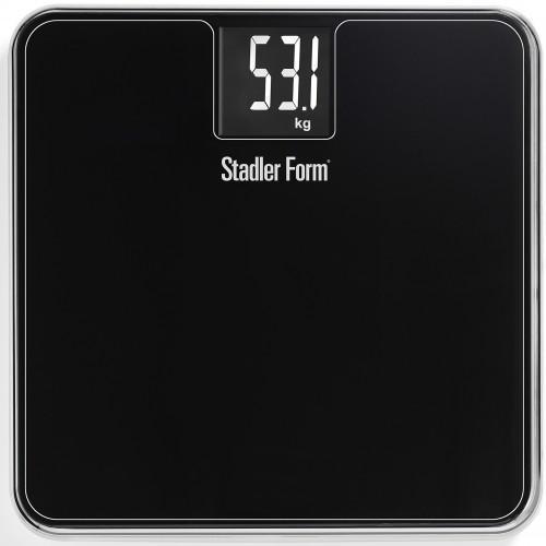 Stadler Form Scale Two SFL.0012, Black весы напольныеSFL.0012 blackДизайн традиционно функционален: сверхпрочное стекло надежно обеспечивает сохранность прибора в течение долгого времени. Точность измерения гарантируют чувствительные сенсоры, которые позволяют контролировать малейшие изменения веса. Максимальный вес для измерения – 180 кг с ценой деления 100 г. Для того чтобы включить весы, нужно просто на них наступить и подождать пару секунд, а после взвешивания у вас будет достаточно времени до отключения, чтобы посмотреть результат