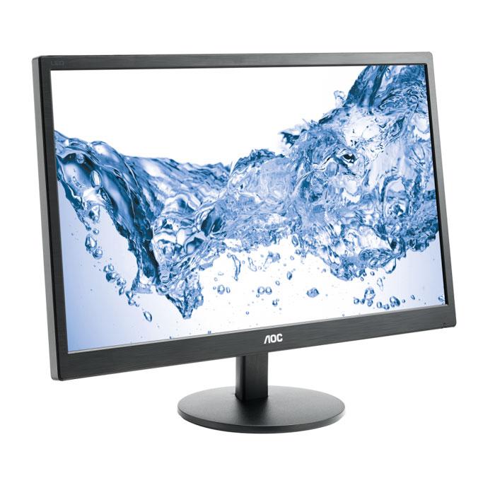 AOC E2470Swhe, Black мониторE2470SwheМонитор AOC E2470Swhe с вечно модным классическим черным дизайном оснащен высококачественной 59,9 см (23,6-дюймовой) ЖК-матрицей Full HD. Благодаря высокой контрастности в 1000:1 в сочетании с яркостью в 250 кд/м2 и времени отклика в 5 мс обладает превосходным качеством изображения и отлично подходит как для работы в офисе, так и для развлечения. Просто подключайте ваши аудио/видеоустройства через разъем D-Sub или два разъема HDMI и наслаждайтесь безупречным качеством изображения. Несмотря на свой большой экран, этот 23,6-дюймовый монитор потребляет всего лишь 26 ватт в обычном режиме. Более того, АОС оснащает все свои мониторы интеллектуальным программным обеспечением и шаблонами, которые помогают дополнительно сэкономить энергию и улучшить качество работы.
