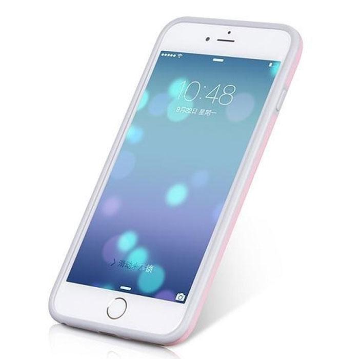 Hoco Coupe Series Double Color чехол-бампер для iPhone 6 Plus, PinkR0007621Чехол-бампер Hoco Coupe Series Double Color для iPhone 6 Plus гарантирует надежную защиту корпуса вашего смартфона от внешнего воздействия. Чехол изготовлен из качественного термопластика (TPU) и поликарбоната (PC) и имеет необходимые отверстия для разъемов и кнопок.