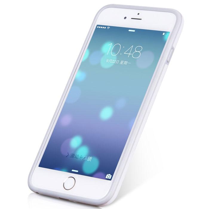 Hoco Coupe Series Double Color чехол-бампер для iPhone 6 Plus, WhiteR0007620Чехол-бампер Hoco Coupe Series Double Color для iPhone 6 Plus гарантирует надежную защиту корпуса вашего смартфона от внешнего воздействия. Чехол изготовлен из качественного термопластика (TPU) и поликарбоната (PC) и имеет необходимые отверстия для разъемов и кнопок.