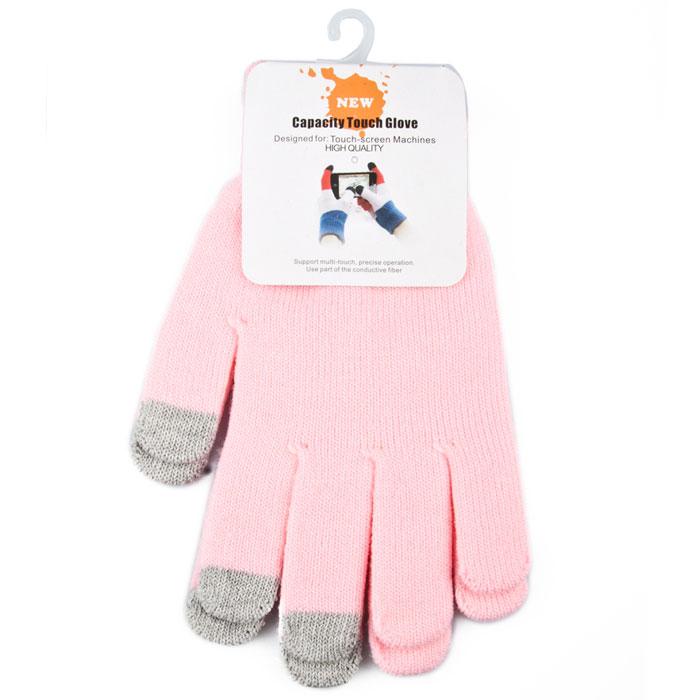 Liberty Project, Light Pink перчатки для сенсорных экранов (размер M)R0001012Перчатки Liberty Project предназначены для удобства использования цифровых устройств с сенсорными экранами в сезон холодов и для работы при низких температурах. Управление девайсами осуществляется с помощью трех пальцев на каждой перчатке.
