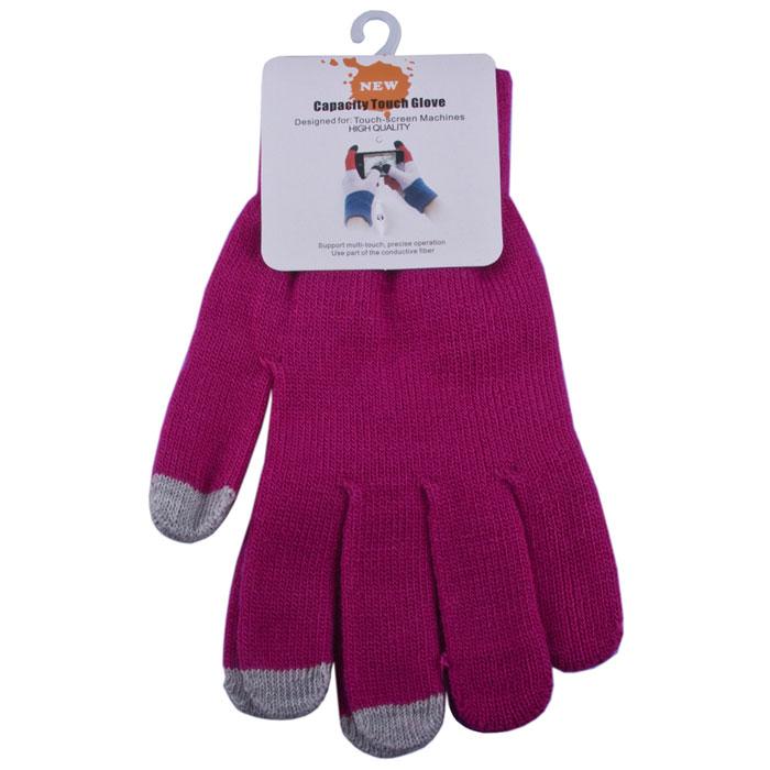 Liberty Project, Fuchsia перчатки для сенсорных экранов (размер M)R0001011Перчатки Liberty Project предназначены для удобства использования цифровых устройств с сенсорными экранами в сезон холодов и для работы при низких температурах. Управление девайсами осуществляется с помощью трех пальцев на каждой перчатке.