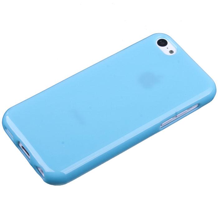 Acqua Lipstick чехол для iPhone 5c, Light Blue (49049)SM002220Задняя крышка (кейс) Acqua Lipstick для iPhone 5c гарантирует надежную защиту корпуса вашего смартфона от внешнего воздействия (пыль, влага, царапины). Чехол изготовлен из качественного термопластика и имеет отверстия для камеры, разъемов и кнопок.