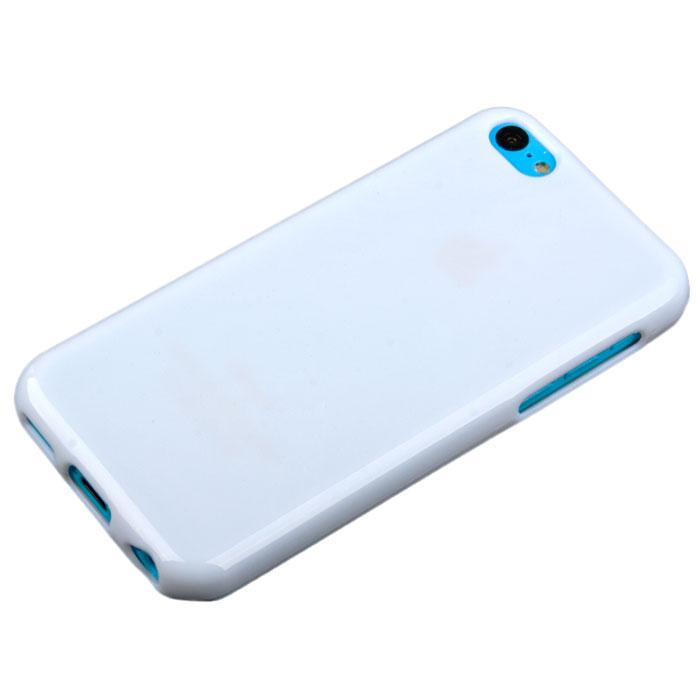 Acqua Lipstick чехол для iPhone 5c, White (49044)SM002218Задняя крышка (кейс) Acqua Lipstick для iPhone 5c гарантирует надежную защиту корпуса вашего смартфона от внешнего воздействия (пыль, влага, царапины). Чехол изготовлен из качественного термопластика и имеет отверстия для камеры, разъемов и кнопок.