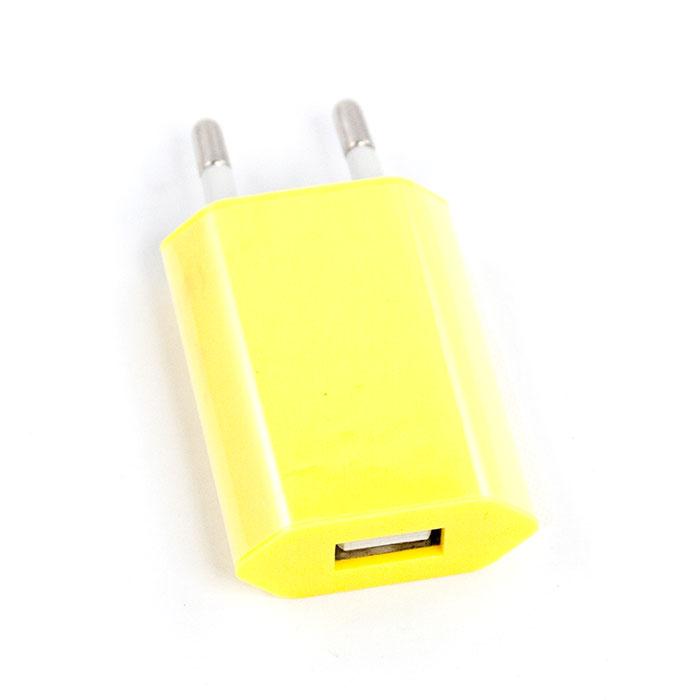 Liberty Project зарядное устройство 1А, Yellow