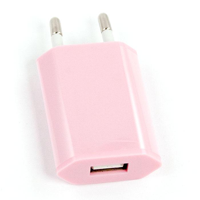 Liberty Project зарядное устройство 1А, PinkR0003919Сетевое зарядное устройство Liberty Project для смартфонов, планшетных ПК и совместимых устройств.