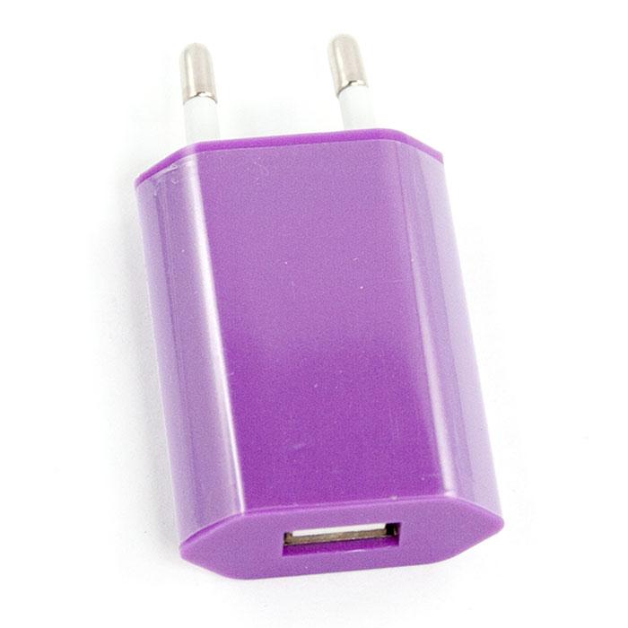 Liberty Project зарядное устройство 1А, LilacR0003921Сетевое зарядное устройство Liberty Project для смартфонов, планшетных ПК и совместимых устройств.