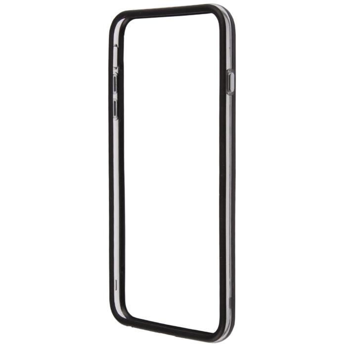 Liberty Project Bumpers чехол-накладка для iPhone 6 Plus, Clear BlackR0006378Чехол-накладка Liberty Project Bumpers для iPhone 6 Plus защитит ваш гаджет от механических повреждений и влаги. Чехол имеет свободный доступ ко всем разъемам и клавишам устройства.