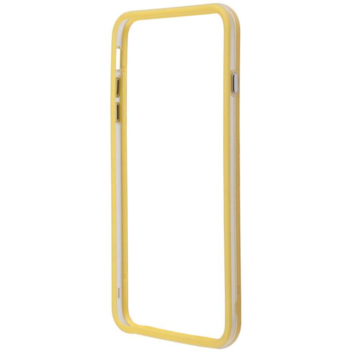 Liberty Project Bumpers чехол-накладка для iPhone 6 Plus, Clear YellowR0006382Чехол-накладка Liberty Project Bumpers для iPhone 6 Plus защитит ваш гаджет от механических повреждений и влаги. Чехол имеет свободный доступ ко всем разъемам и клавишам устройства.