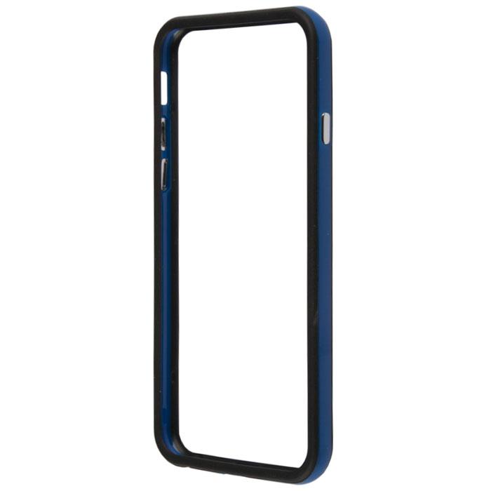 Liberty Project Bumpers чехол-накладка для iPhone 6, Blue BlackR0006712Чехол-накладка Liberty Project Bumpers для iPhone 6 защитит ваш гаджет от механических повреждений. Чехол имеет свободный доступ ко всем разъемам и клавишам устройства.