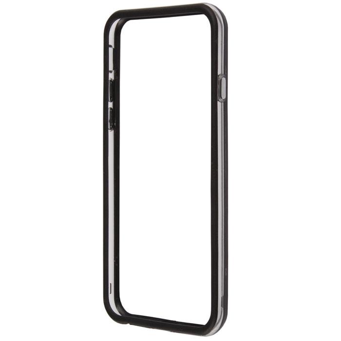 Liberty Project Bumpers чехол-накладка для iPhone 6, Clear BlackR0005431Чехол-накладка Liberty Project Bumpers для iPhone 6 защитит ваш гаджет от механических повреждений. Чехол имеет свободный доступ ко всем разъемам и клавишам устройства.