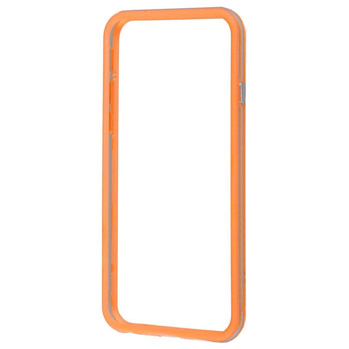 Liberty Project Bumpers чехол-накладка для iPhone 6, Clear OrangeR0005478Чехол-накладка Liberty Project Bumpers для iPhone 6 защитит ваш гаджет от механических повреждений. Чехол имеет свободный доступ ко всем разъемам и клавишам устройства.