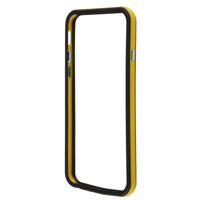Liberty Project Bumpers чехол-накладка для iPhone 6, Yellow BlackR0006710Чехол-накладка Liberty Project Bumpers для iPhone 6 защитит ваш гаджет от механических повреждений. Чехол имеет свободный доступ ко всем разъемам и клавишам устройства.