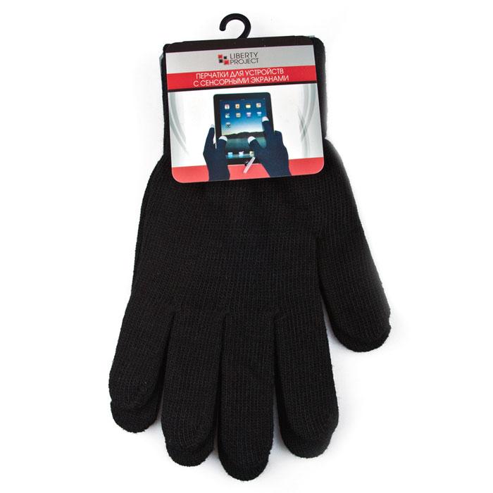 Liberty Project 8000, Black перчатки для сенсорных экранов (размер S)R0000494Перчатки Liberty Project 8000 предназначены для удобства использования цифровых устройств с сенсорными экранами в сезон холодов и для работы при низких температурах. Вся пять пальцев и даже вся поверхность перчаток содержит вплетенные металлизированные нити, которые позволяют экрану чутко реагировать на ваши прикосновения.