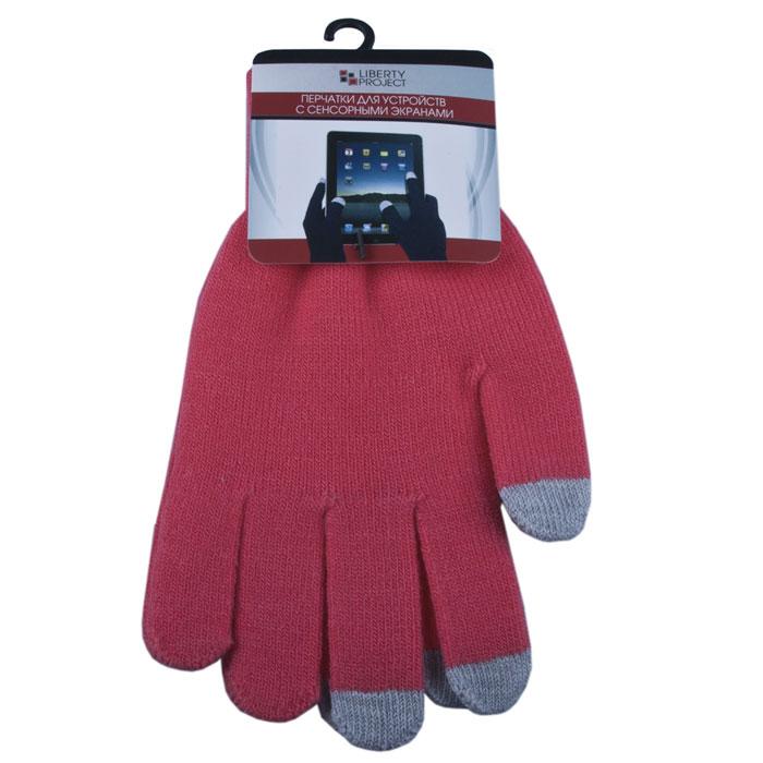 Liberty Project, Coral перчатки для сенсорных экранов (размер M)CD125829Перчатки Liberty Project предназначены для удобства использования цифровых устройств с сенсорными экранами в сезон холодов и для работы при низких температурах. Управление девайсами осуществляется с помощью трех пальцев на каждой перчатке.
