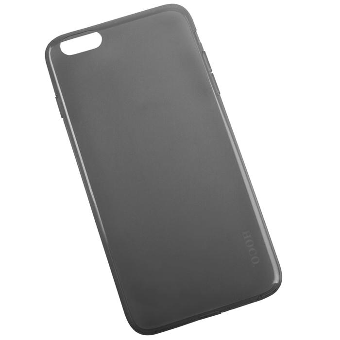 Hoco Light Series UltraSlim защитная крышка для iPhone 6 Plus, BlackR0007594Задняя крышка (кейс) Hoco Light Series UltraSlim для iPhone 6 Plus гарантирует надежную защиту корпуса вашего смартфона от внешнего воздействия (пыль, влага, царапины). Чехол изготовлен из качественного пластика и имеет отверстия для камеры и разъемов.