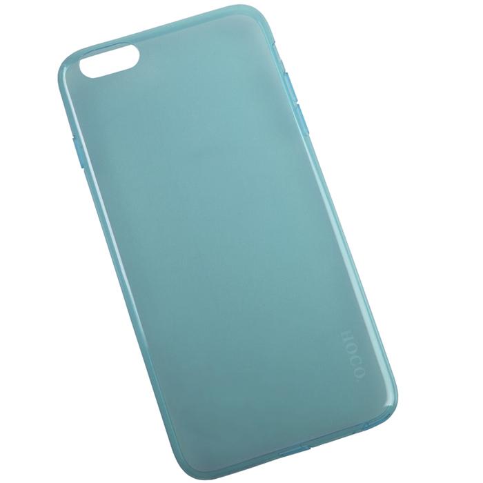 Hoco Light Series UltraSlim защитная крышка для iPhone 6 Plus, Light BlueR0007598Задняя крышка (кейс) Hoco Light Series UltraSlim для iPhone 6 Plus гарантирует надежную защиту корпуса вашего смартфона от внешнего воздействия (пыль, влага, царапины). Чехол изготовлен из качественного пластика и имеет отверстия для камеры и разъемов.