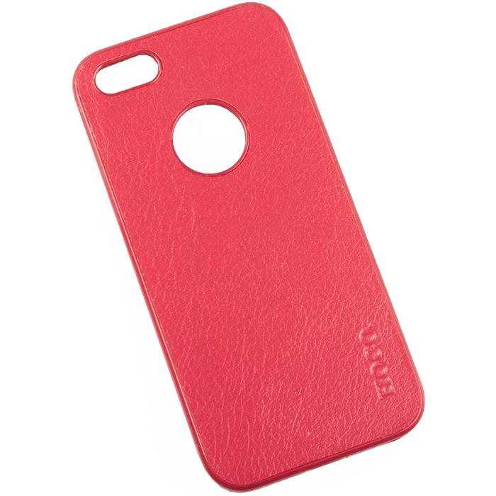 Hoco Paris Series защитная крышка для iPhone 5/5s, RedR0005161Задняя крышка (кейс) Hoco Paris Series для iPhone 5/5s гарантирует надежную защиту корпуса вашего смартфона от внешнего воздействия (пыль, влага, царапины). Чехол изготовлен из качественных материалов и имеет отверстия для камеры и разъемов.