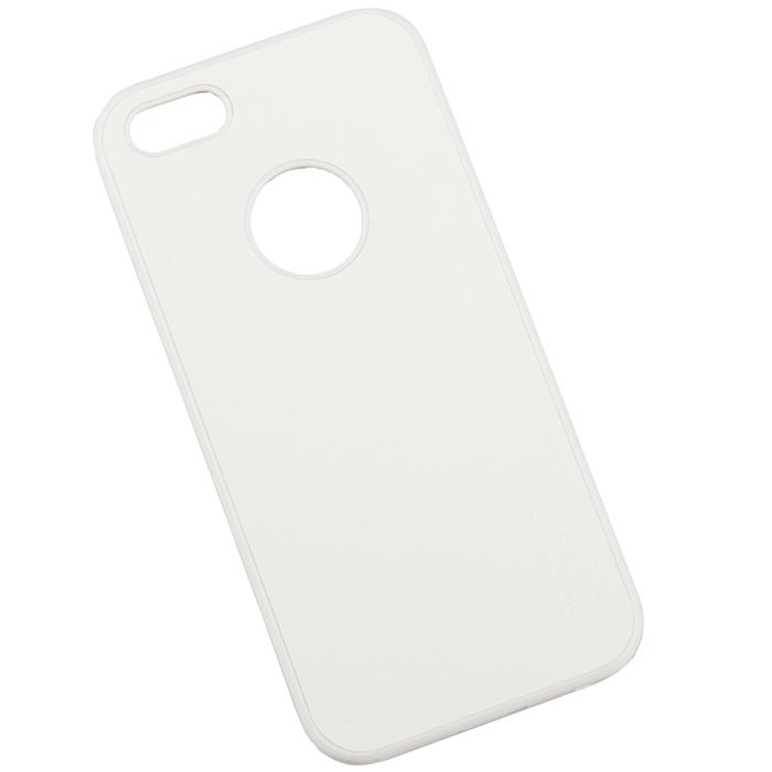 Hoco Paris Series защитная крышка для iPhone 5/5s, WhiteR0005162Задняя крышка (кейс) Hoco Paris Series для iPhone 5/5s гарантирует надежную защиту корпуса вашего смартфона от внешнего воздействия (пыль, влага, царапины). Чехол изготовлен из качественных материалов и имеет отверстия для камеры и разъемов.
