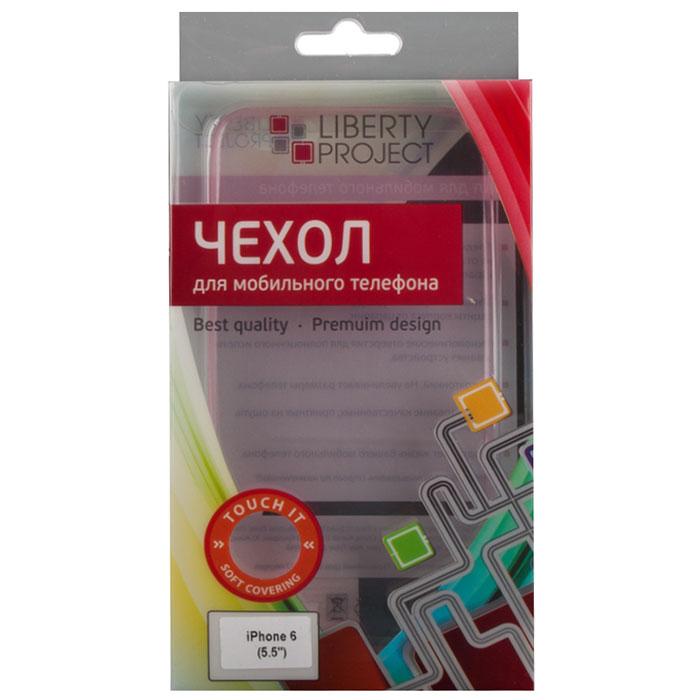 Liberty Project TPU чехол для iPhone 6 Plus, PinkR0006389Чехол Liberty Project TPU Case для iPhone 6 Plus защитит ваш гаджет от механических повреждений и влаги. Чехол имеет свободный доступ ко всем разъемам и клавишам устройства.