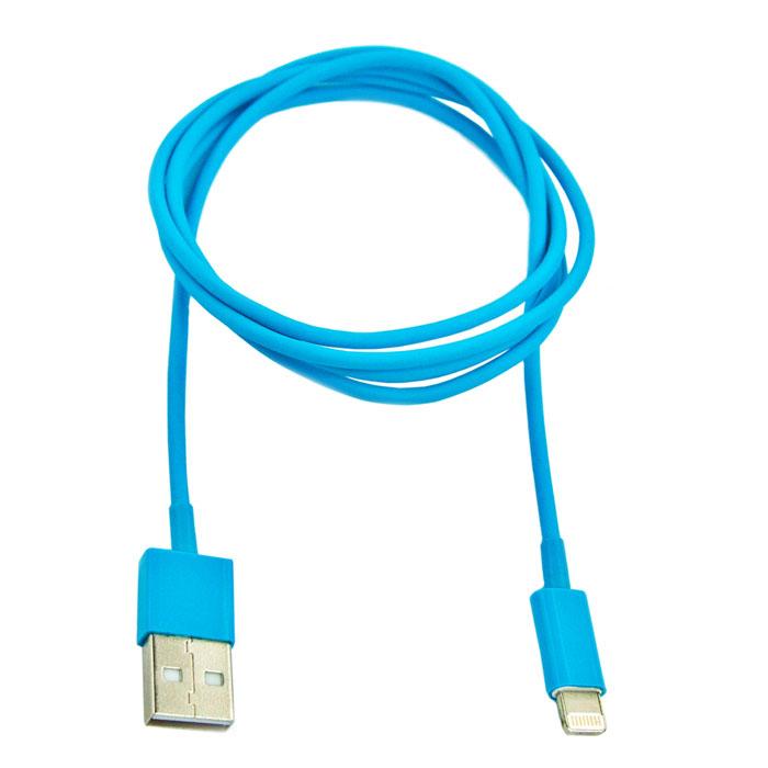 Liberty Project USB Lightning Cable кабель для iPhone 5/iPad Mini/iPad, BlueSM001302Кабель Liberty Project USB Lightning Cable предназначен для передачи данных с вашего устройства на персональный компьютер, а также зарядки от источников питания с USB выходом.