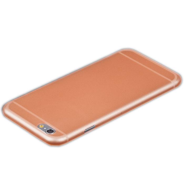 Liberty Project защитная крышка 0,4 мм для iPhone 6, OrangeR0005474Защитная крышка Liberty Project для iPhone 6 защитит ваш гаджет от механических повреждений. Крышка имеет свободный доступ ко всем разъемам и клавишам устройства.