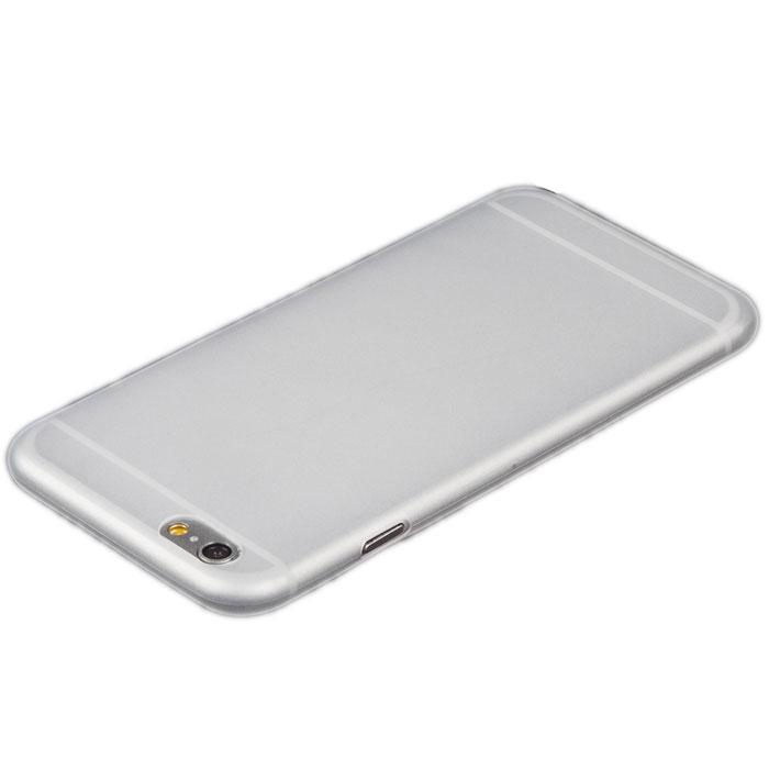 Liberty Project защитная крышка 0,4 мм для iPhone 6, WhiteR0005469Защитная крышка Liberty Project для iPhone 6 защитит ваш гаджет от механических повреждений. Крышка имеет свободный доступ ко всем разъемам и клавишам устройства.