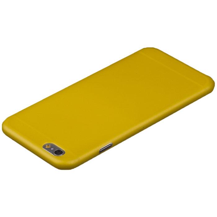 Liberty Project защитная крышка 0,4 мм для iPhone 6 Plus, YellowR0006394Защитная крышка Liberty Project для iPhone 6 Plus защитит ваш гаджет от механических повреждений и влаги. Крышка имеет свободный доступ ко всем разъемам и клавишам устройства.