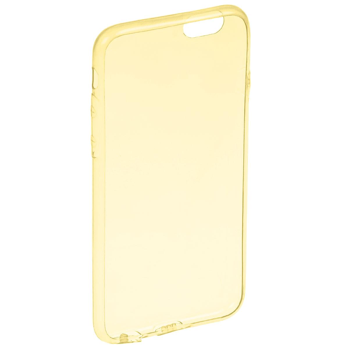 Liberty Project TPU чехол для iPhone 6, YellowR0005483Чехол Liberty Project TPU Case для iPhone 6 защитит ваш гаджет от механических повреждений и влаги. Чехол имеет свободный доступ ко всем разъемам и клавишам устройства.