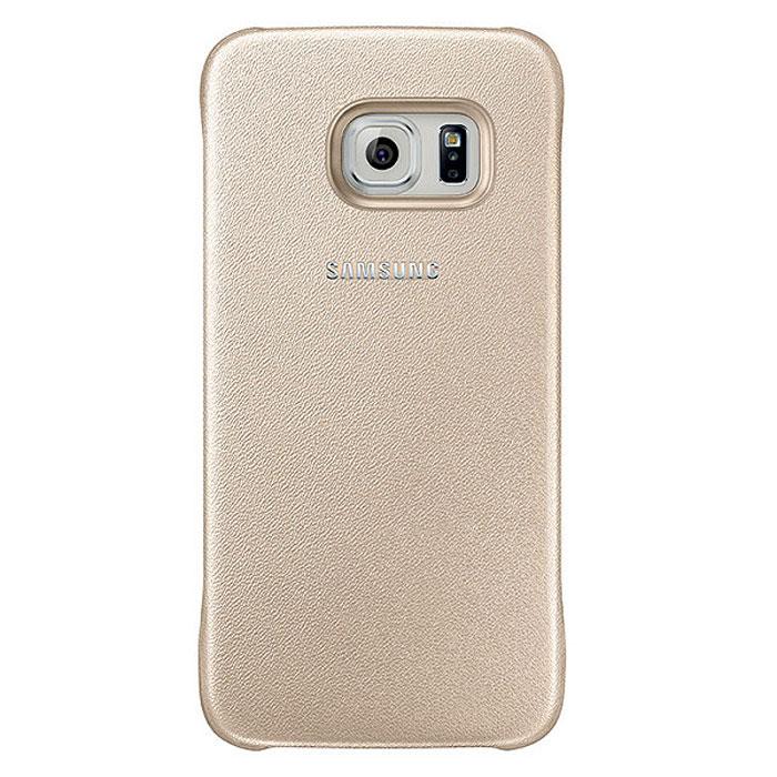 Samsung EF-YG920B Protective Cover чехол для Galaxy S6, GoldEF-YG920BFEGRUЧехол Samsung EF-YG920B Protective Cover для Galaxy S6 отлично подойдёт для вашего устройства, так как он сочетает в себе удобство и функциональность, а также сможет защитить ваш смартфон от внешних повреждений. Имеет свободный доступ ко всем разъемам устройства.