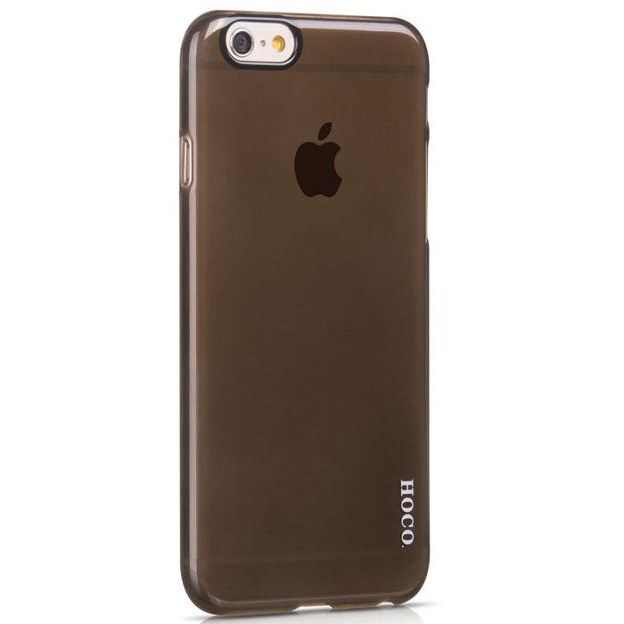 Hoco Thin Series PC защитная крышка для iPhone 6, BlackR0007535Задняя крышка Hoco Thin Series PC для iPhone 6 гарантирует надежную защиту корпуса вашего смартфона от внешнего воздействия (пыль, влага, царапины). Чехол изготовлен из качественного пластика и имеет отверстия для камеры, разъемов и кнопок.