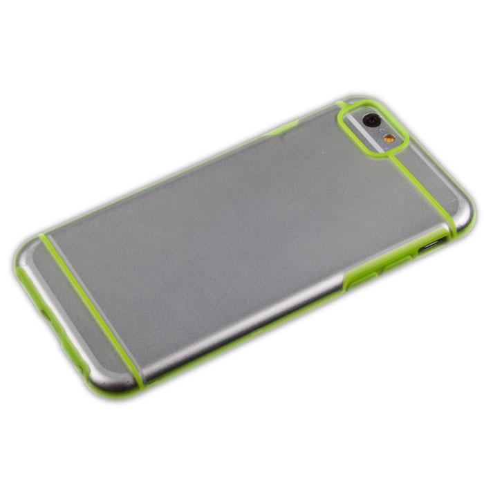 Liberty Project защитная крышка для iPhone 6, Green Striped ClearR0006698Защитная крышка Liberty Project для iPhone 6 защитит ваш гаджет от механических повреждений. Чехол имеет свободный доступ ко всем разъемам и клавишам устройства.