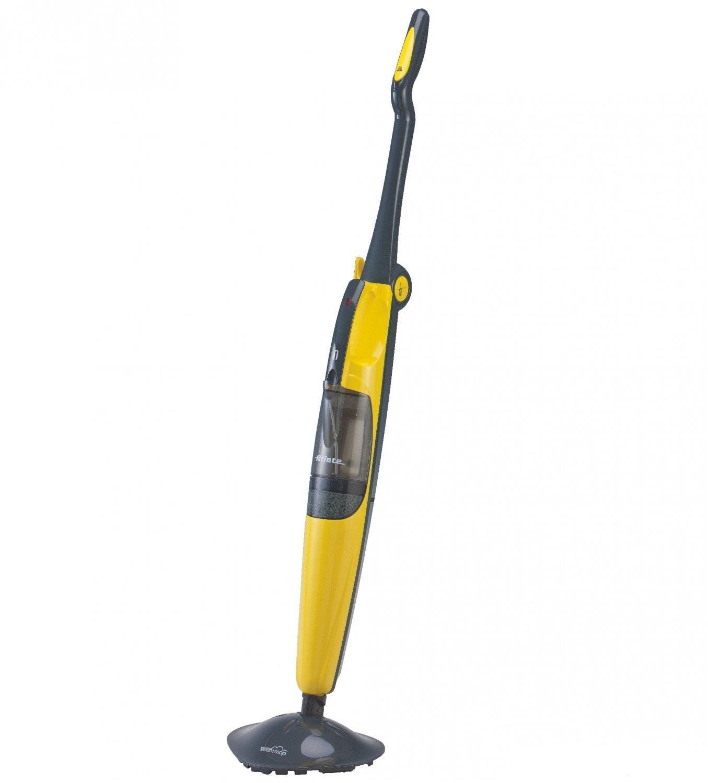 Ariete Steam Mop паровая швабра (4160)4160Паровая Швабра 4160 полезна для глубокой очистки любой типа пола устраняя микробы и бактерии при парово дезинфекции 100 ° С, без применения химических чистящих средств. Готова к использованию за 10 секунд. Благодаря поворотной головке в 180 ° позволяет легко чистить все типы напольных покрытий, а также добраться до самых сложных областей, даже в мебели. Кроме того, используя соответствующую накладку для ковров,можно освежить ворсинки ковра и другие ткани.С