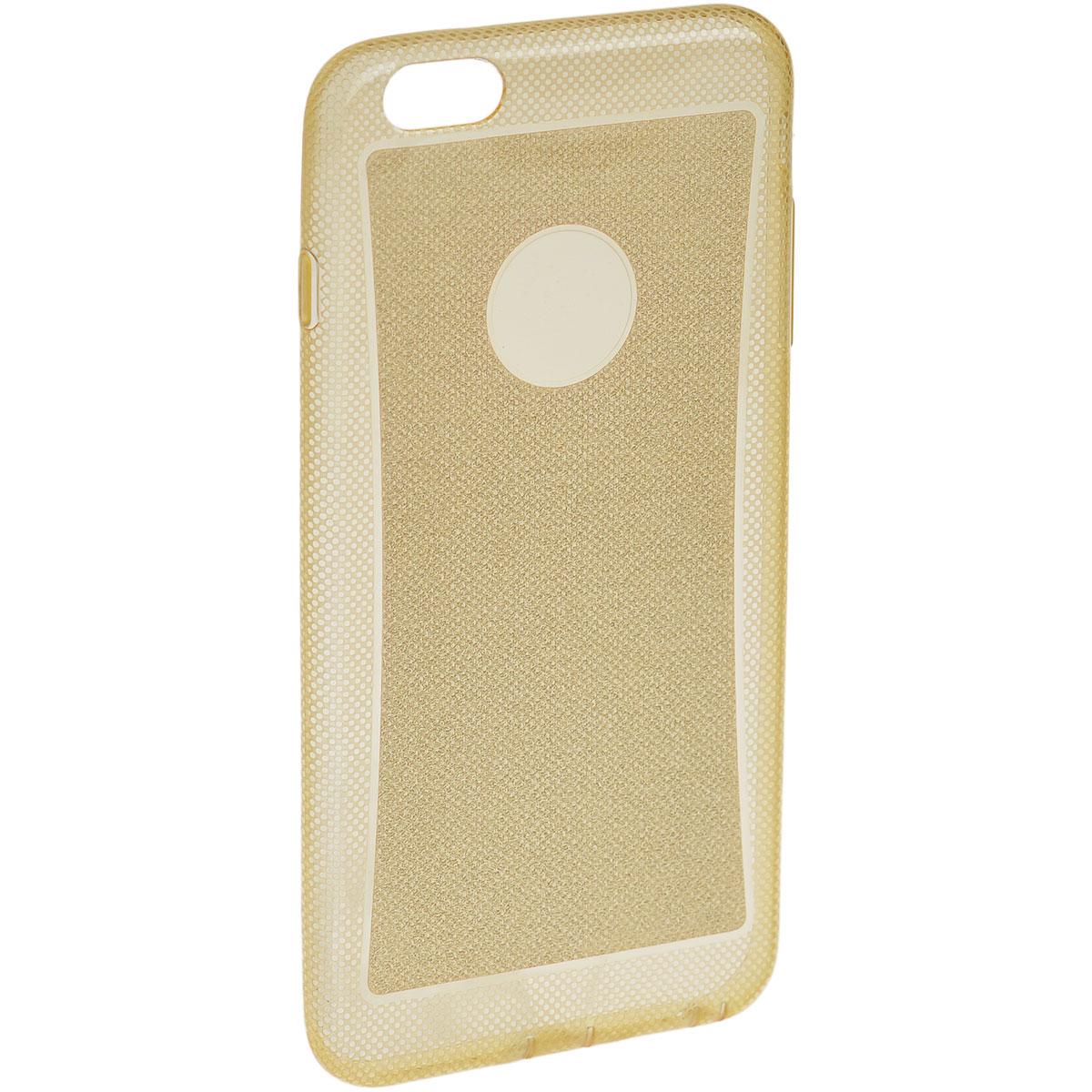 Liberty Project TPU чехол для iPhone 6, GoldR0007302Чехол Liberty Project для iPhone 6 защитит ваш гаджет от механических повреждений и влаги. Чехол имеет свободный доступ ко всем разъемам и клавишам устройства.
