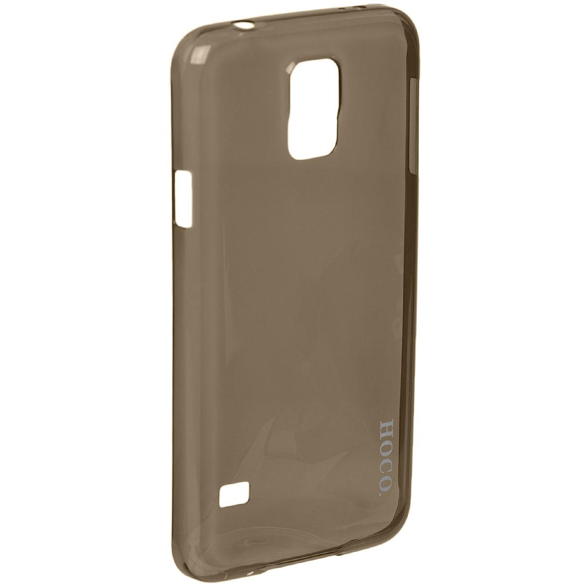 Hoco Light Series UltraSlim защитная крышка для Samsung Galaxy S5, BlackR0004845Задняя крышка (кейс) Hoco Light Series UltraSlim для Samsung Galaxy S5 гарантирует надежную защиту корпуса вашего смартфона от внешнего воздействия (пыль, влага, царапины). Чехол изготовлен из качественного пластика и имеет отверстия для камеры, разъемов и кнопок.